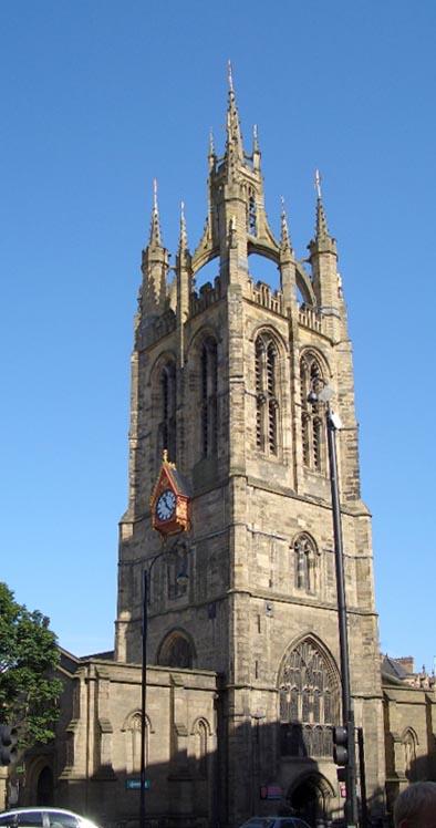 St Nicholas lantern spire