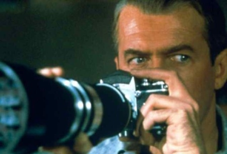A scene from Rear Window...who is watching?