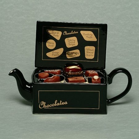 Choclatea tony Carter one of many past teapots I have featured in past weeks