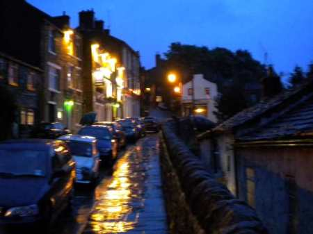 haworth in the rain