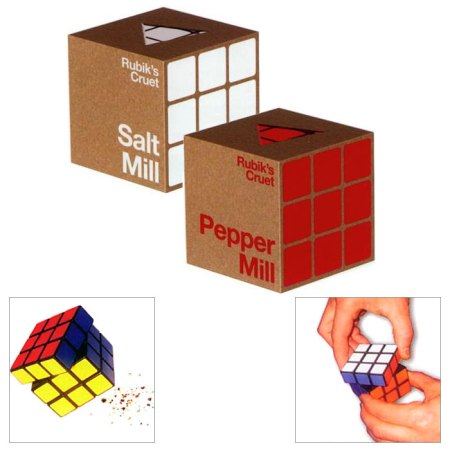 rubiks-salt-pepper-mills...good job those condiments are just a twist away eh, or you could be all day!