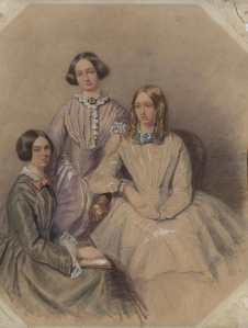 could this be a fresh portrait of the Bronte sisters?