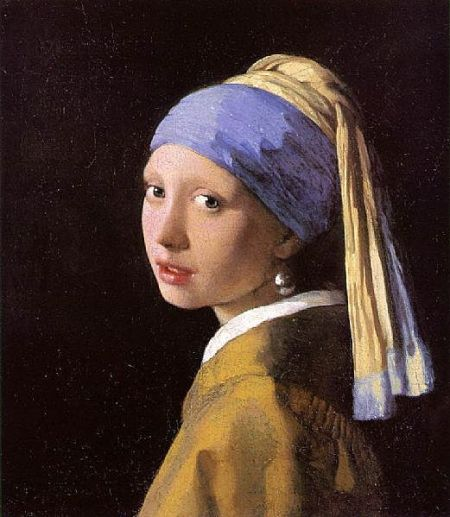the enigmatic Girl with a Pearl Earring Vermeer