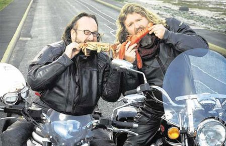 The incorrigable Hairy Bikers