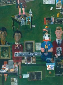 Peter Blake collage
