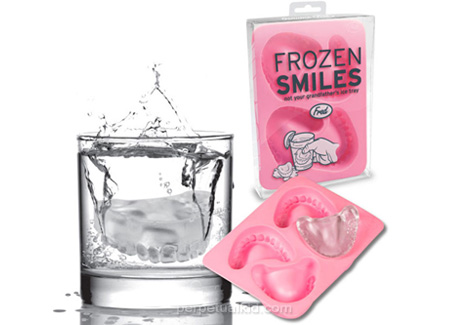 frozen smiles ice tray, cool teeth for the gummy