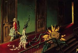 a little night music by Dorothea Tanning 1946