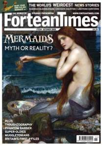 October 2009 Fortean Times magazine. a jolly good read!