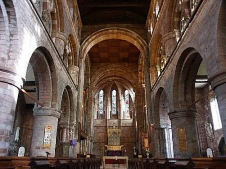 inside shrewsbury-abbey