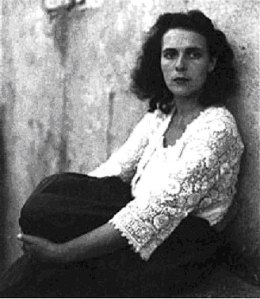 Leonora Carrington, one of the many women artists featured