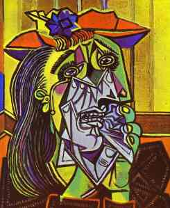 picasso-weeping-woman-1937 based on Dora Maar