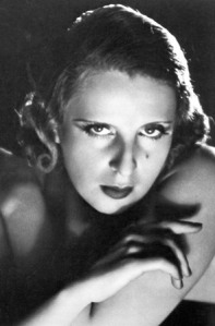 Tamara de Lempicka, like a film star