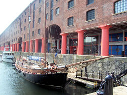 Tate Liverpool, one of the many cultural  attractions