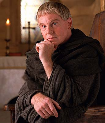 the fabulous Derek Jacobi as Brother Cadfael