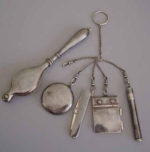 Victorian chatelaine, the lady's toolbox