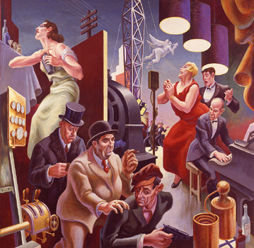 Art history news america today thomas hart benton s epic for America today mural