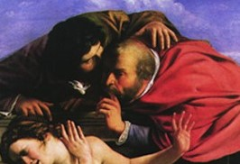 susanna and the elders detail