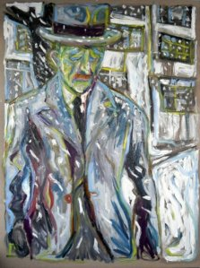 Billy Childish is just one of the artists featured on my blog