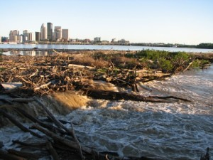 Louisville from the Falls,  image courtesy of http://artistatexit0.wordpress