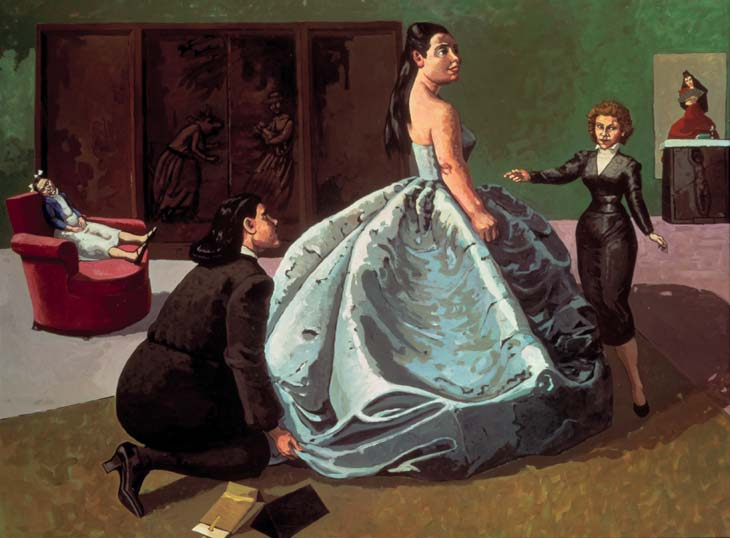 Billedresultat for paula rego paintings