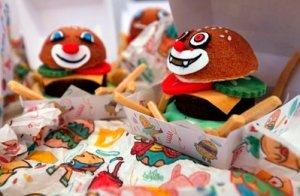 edible MacDonalds - a novel idea