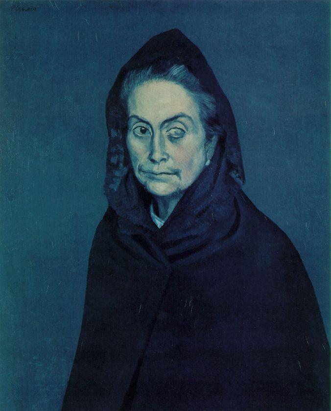 Picasso's Blue Period   Echostains Blog