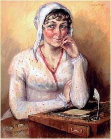 A Portrait Of Jane Austen Echostains Blog
