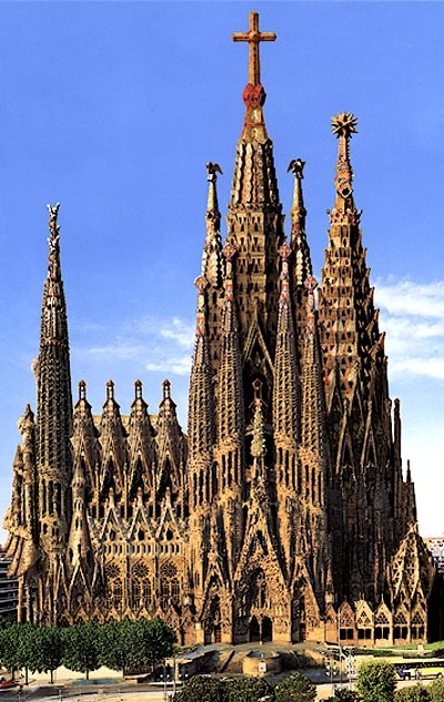 Sagrada fam lia echostains blog for La sagrada familia en barcelona