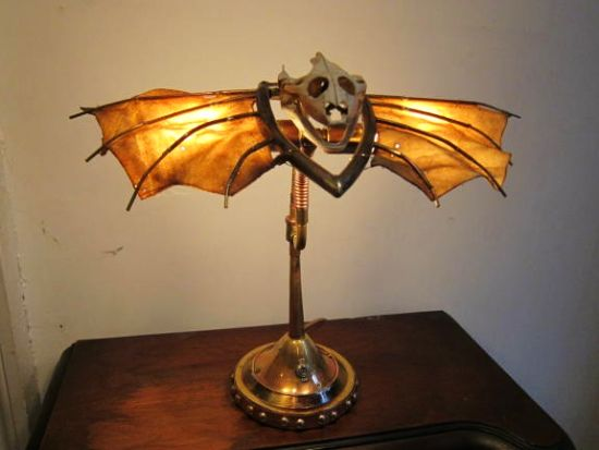 Wacky Lamps weird and wacky : fright lights! | echostains blog